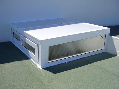Cortinas techos y fachadas aluminios carpaty for Claraboyas para techos