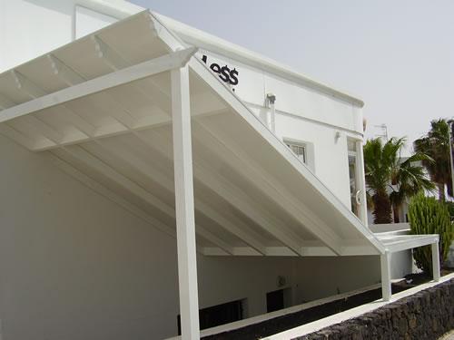 Cortinas techos y fachadas aluminios carpaty - Recubrimiento de fachadas ...